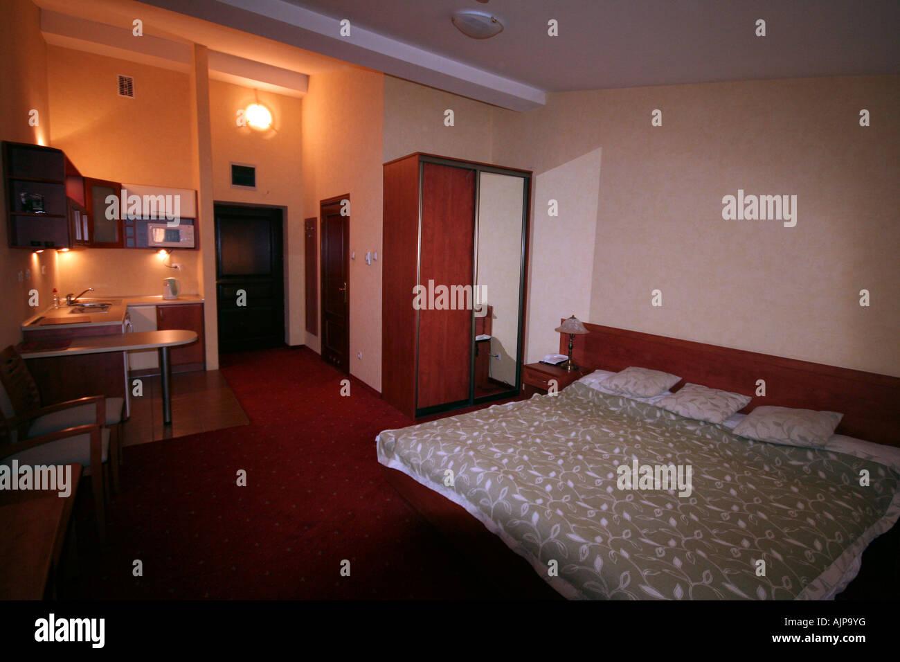 Hotel Zimmer Krakau Polen Europa Stockfoto Bild 14786451 Alamy