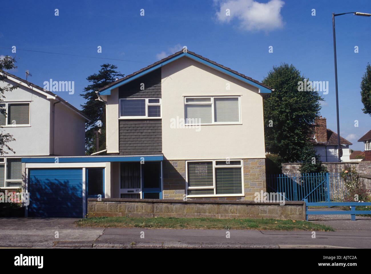 Bristol Avon Somerset England UK 1950er 60er Jahre Haus in ...