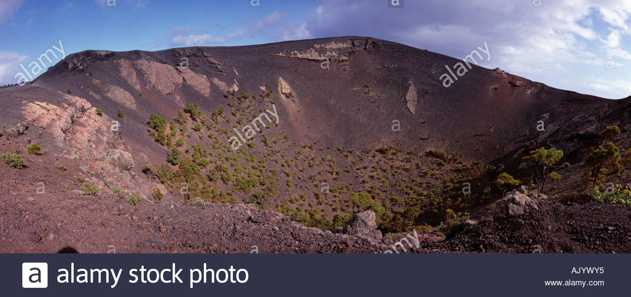 Vulkan / San Antonio / Vulkan Stockbild