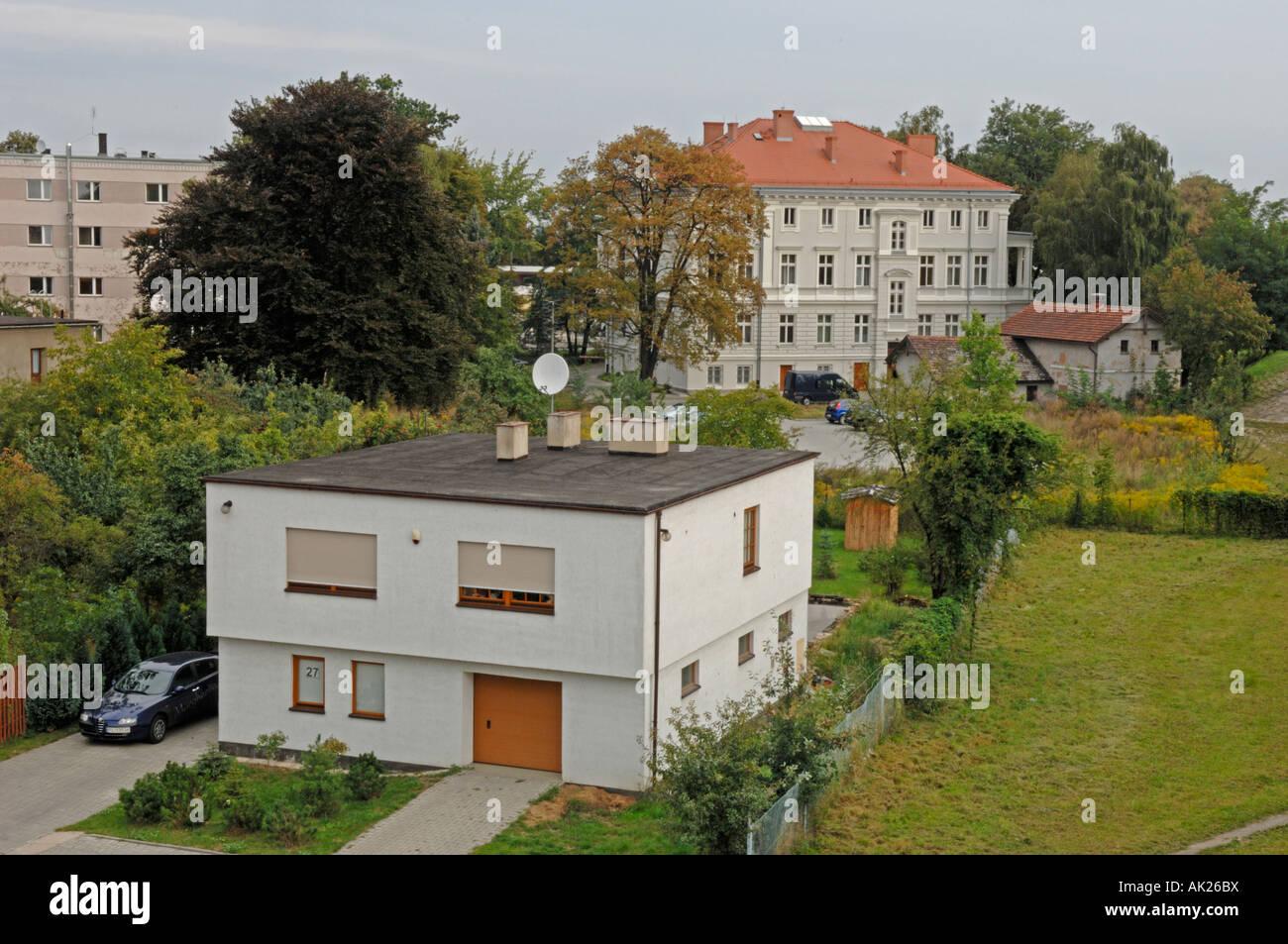 Astounding Haus Mit Flachdach Sammlung Von Typisches Gebaut Während Des Kommunistischen Regimes In