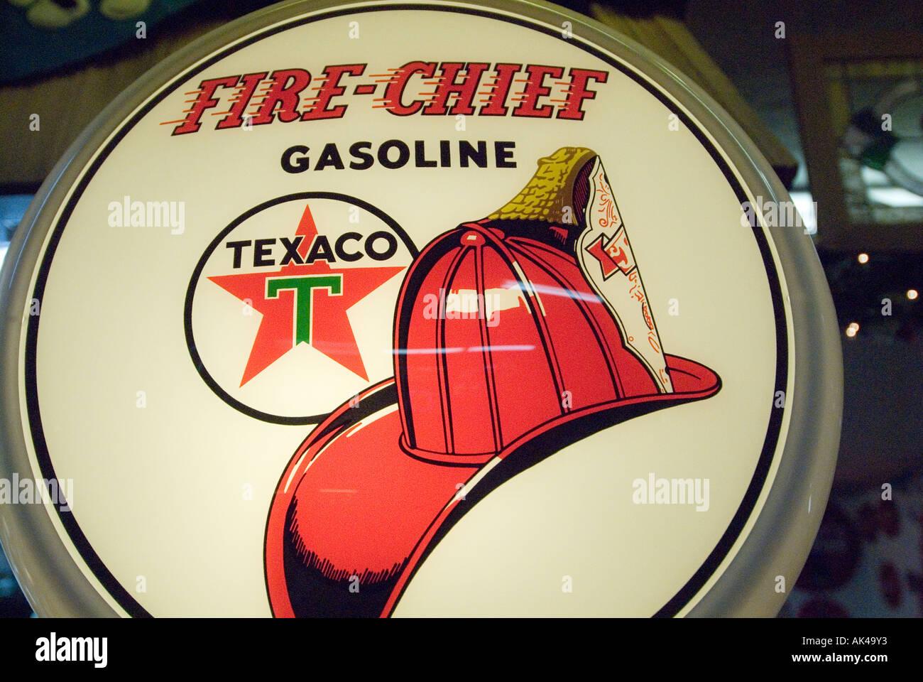 ARIZONA Stadt von WILLIAMS Antik Texaco Benzin Zeichen im Route 66 Diner 6b15348e76