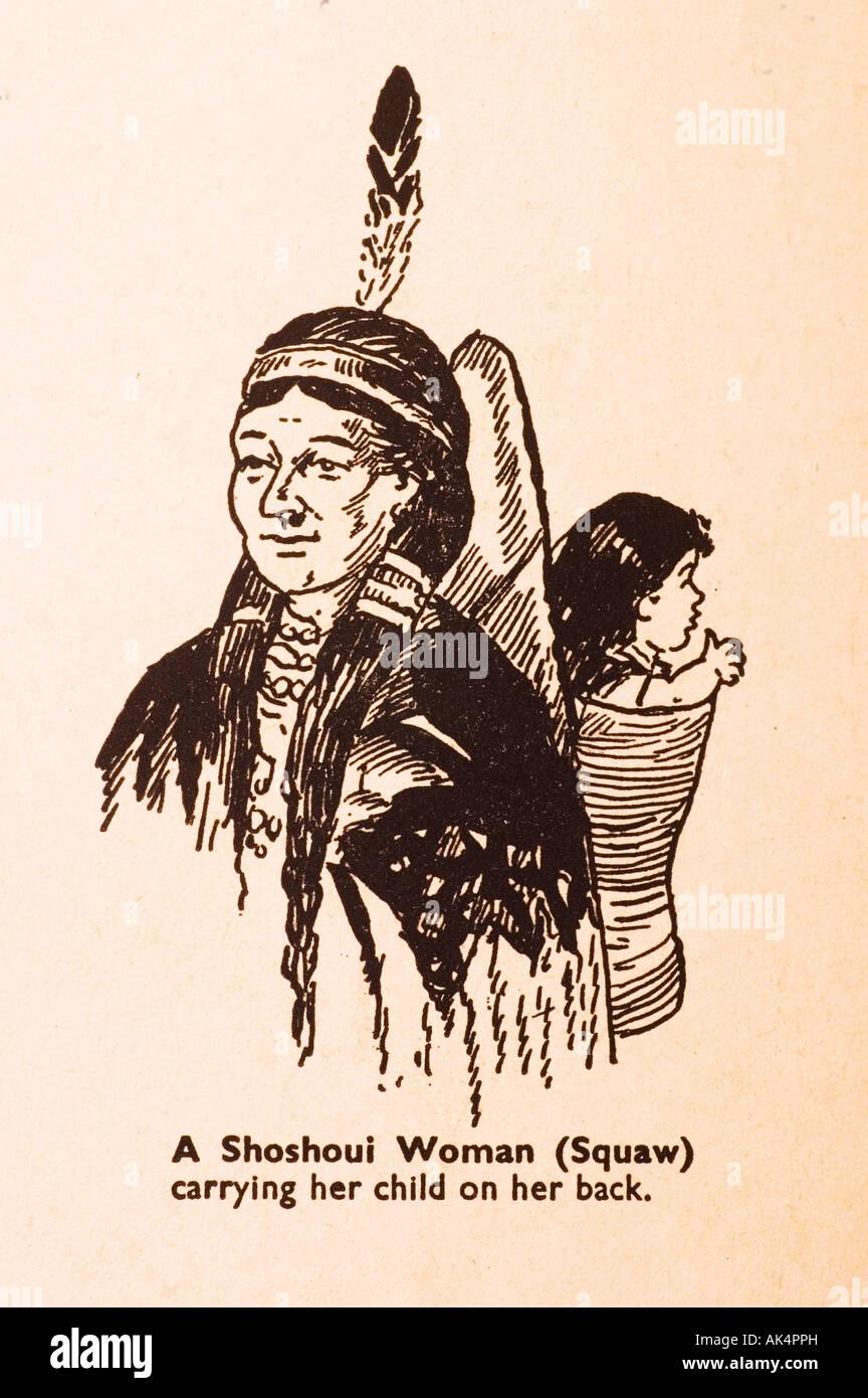 Cartoon von Schuljunge 50er Jahre jährliche Stockbild