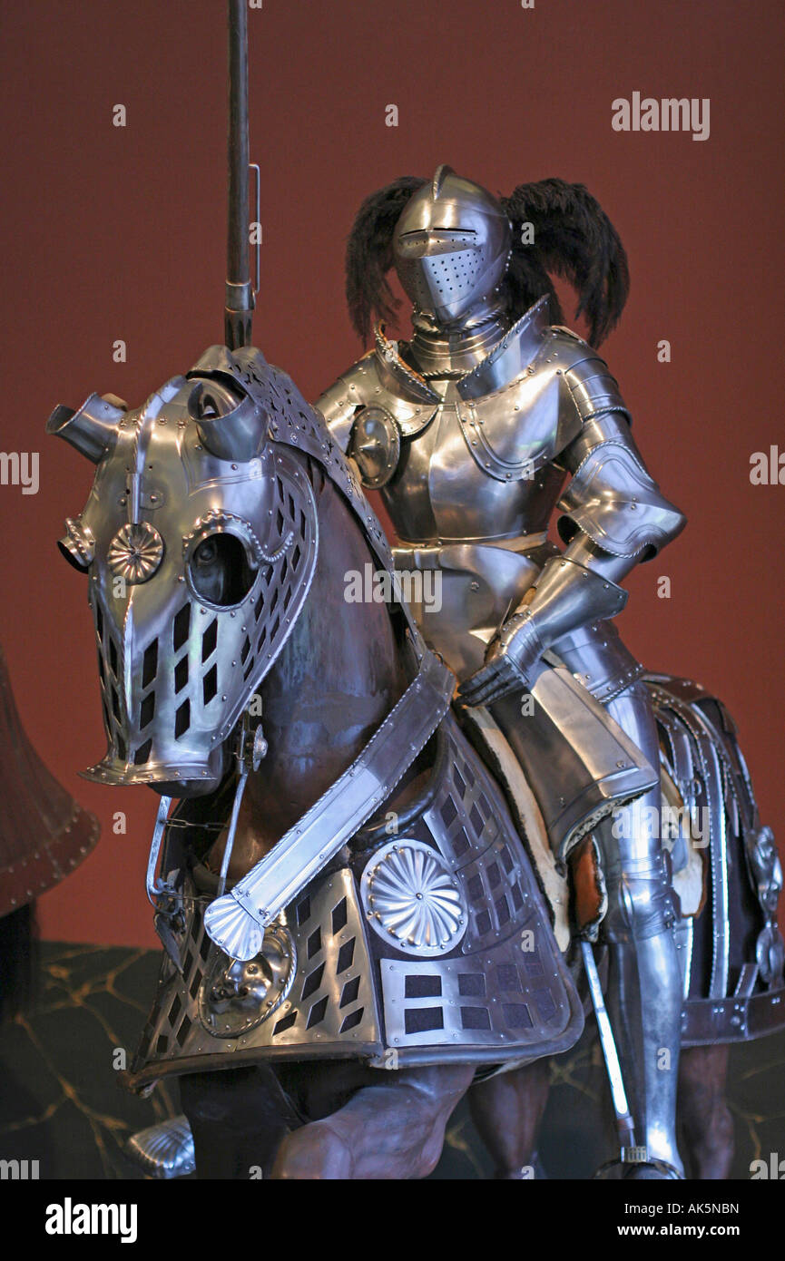 Ritter Rüstung Stockbild