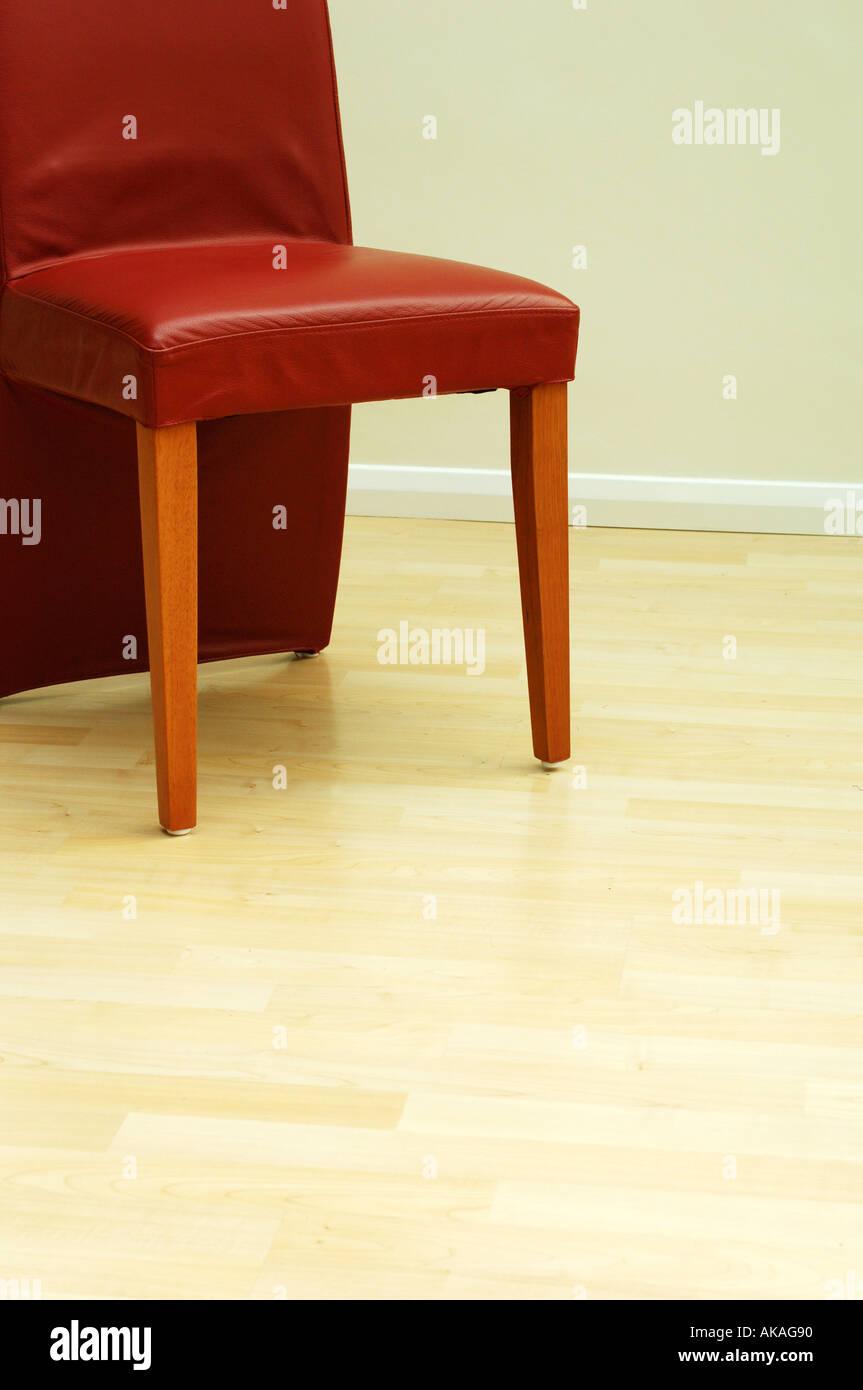 Moderne Sessel In Rotem Leder Stockfoto Bild 4876431 Alamy