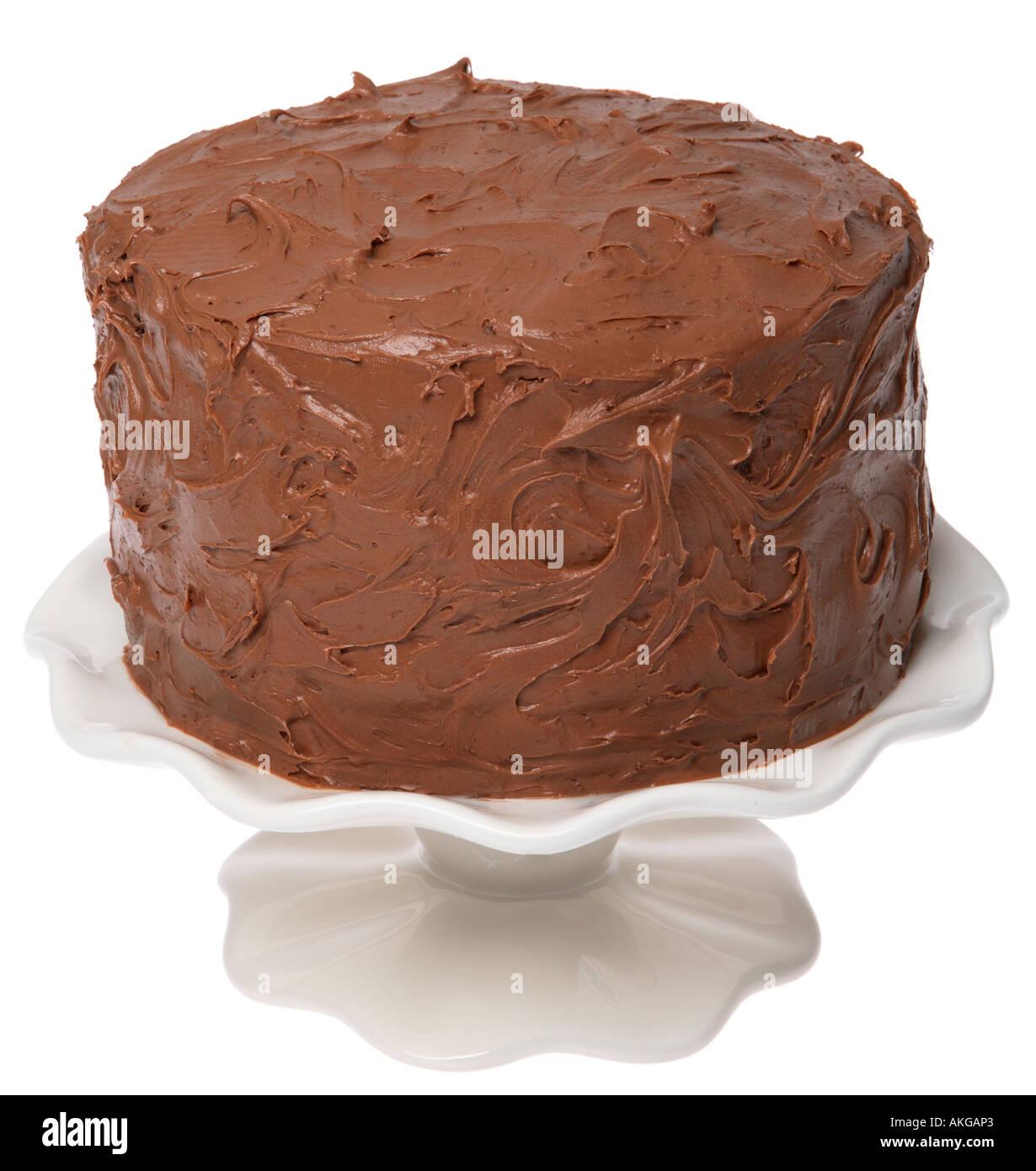 Schokoladenkuchen Auf Blech Stockfoto Bild 8567778 Alamy