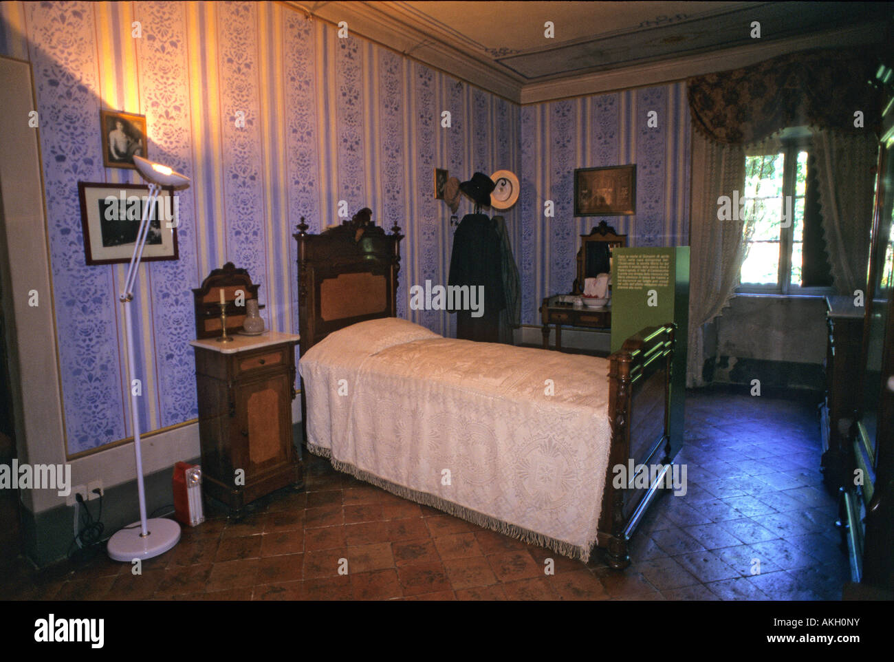 Schlafzimmer, Giovanni Pascoli Haus, Castelvecchio Pascoli ...
