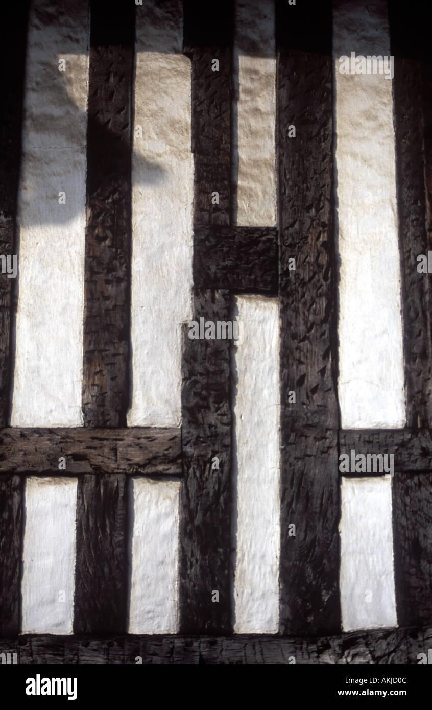 Schließen Sie Ziernägeln Holz framing Shrewsburry Shropshire UK ...