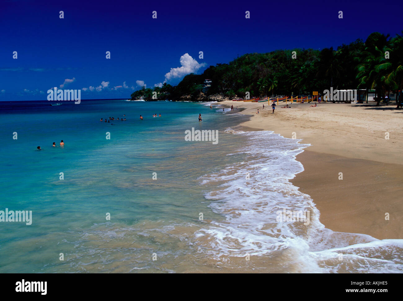 Ebenen in der Karibik