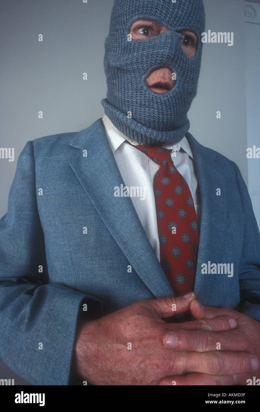 White Collar Crime Stockbild
