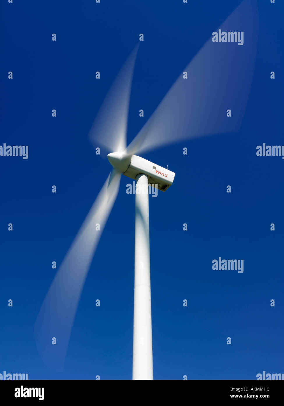Kanada Ontario Tiverton Windkraftanlagen zur Stromerzeugung genutzt Stockbild