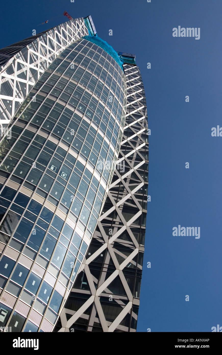 Mode Gakuen Cocoon Tower Shinjuku-Tokio Stockbild