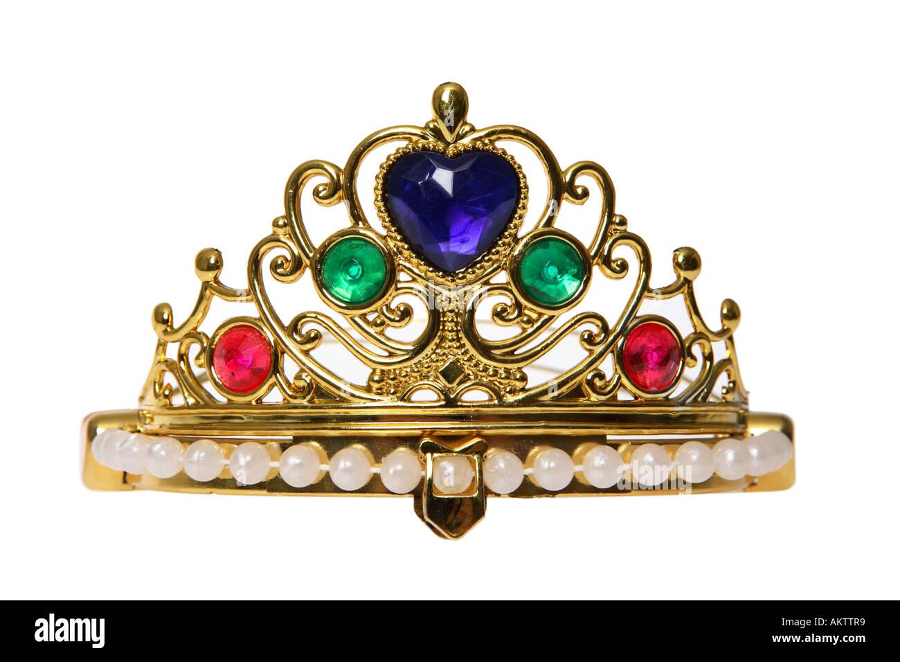 Prinzessin Krone Stockbild