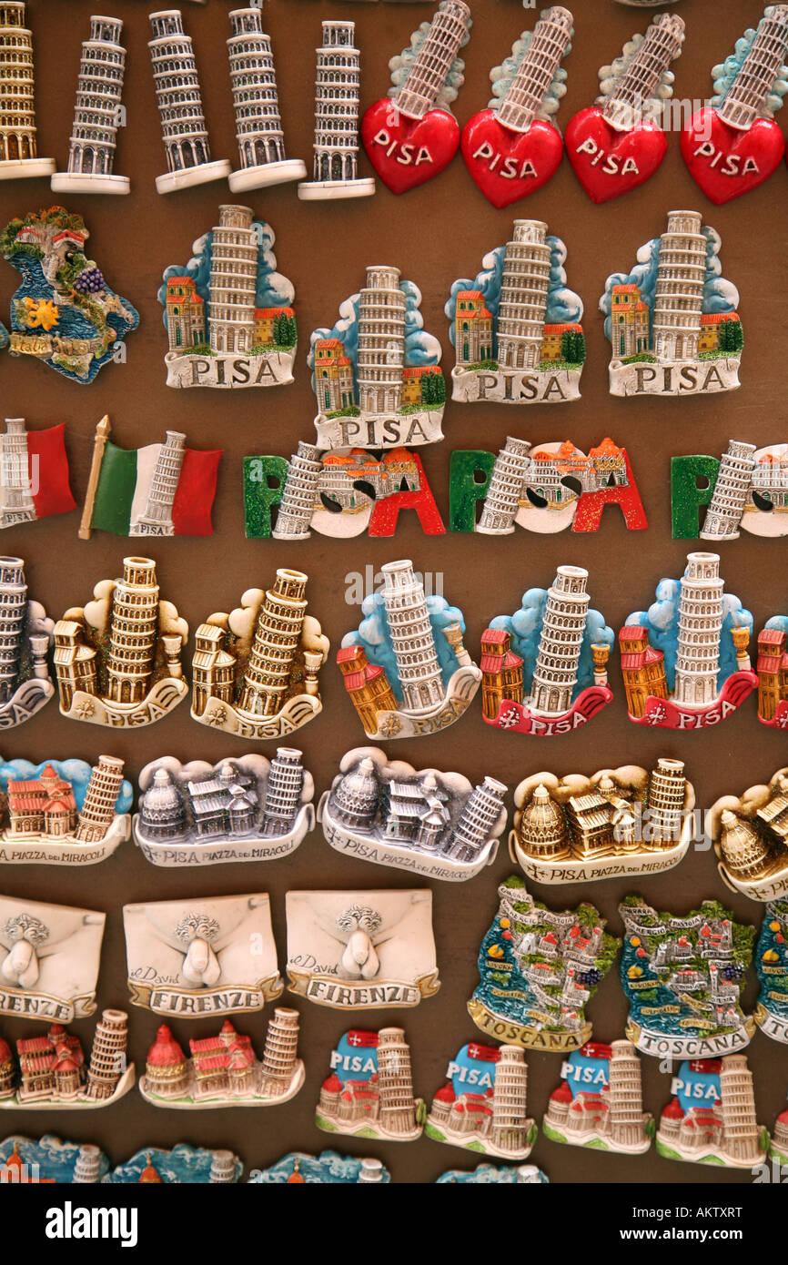 Kühlschrank Magnet Magnete Souvenirs zum Verkauf, Pisa, Italien ...