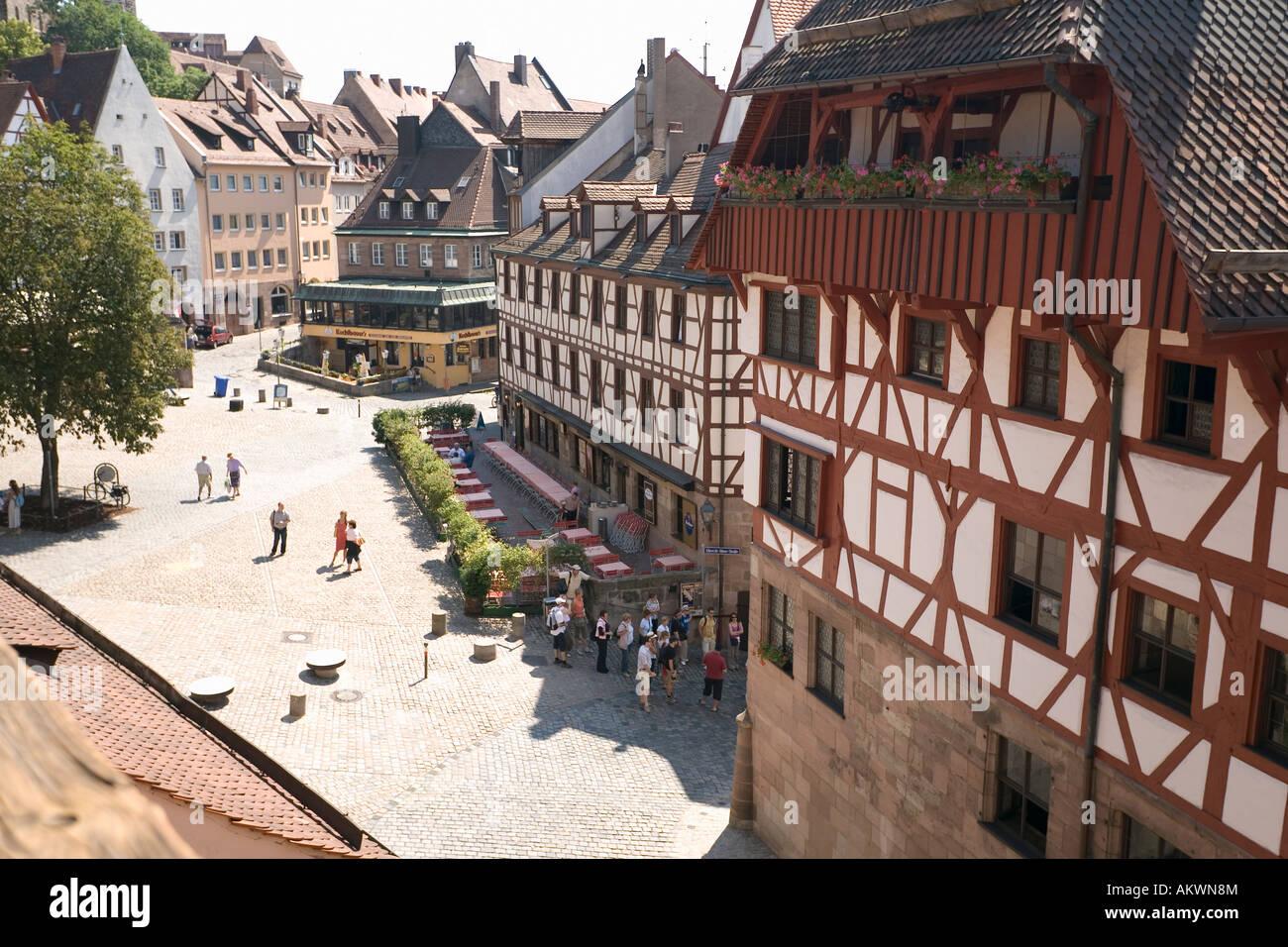 Deutschland, Nürnberg, Albrecht-Dürer-Haus Stockbild