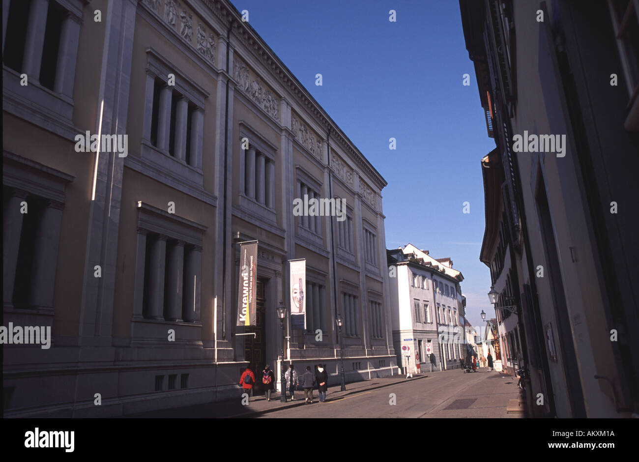 Basler Museum der Kulturen in Grossbasel Stockbild