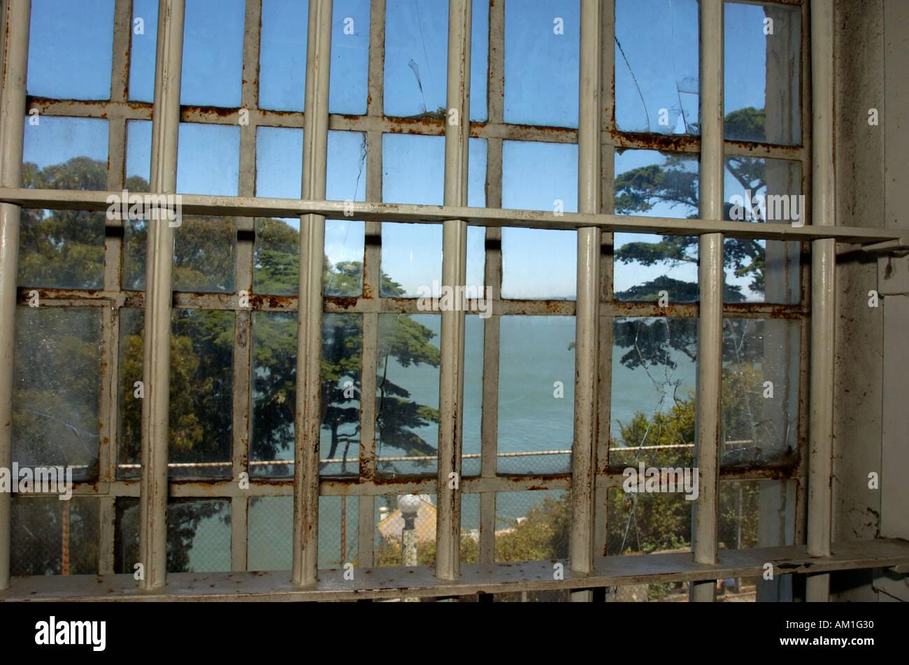 Kitchen alcatraz prison san francisco stockfotos kitchen - Fenster in der kuche ...