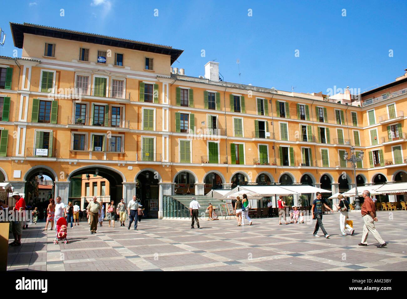 Placa wichtigen, historischen alten Stadt, Palma, Mallorca, Spanien Stockfoto