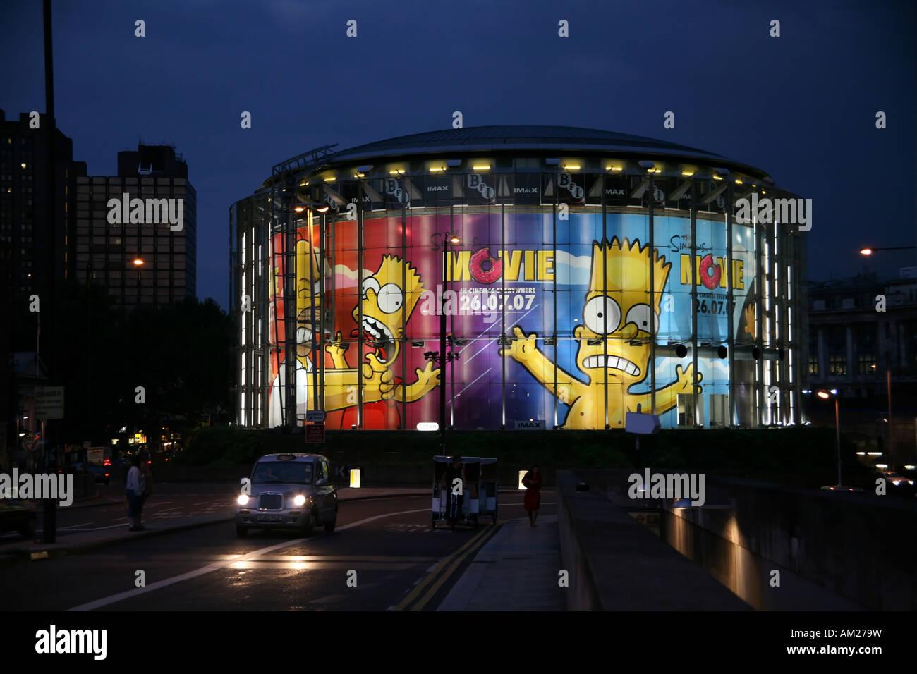 BFI british Film institute imax Stockbild