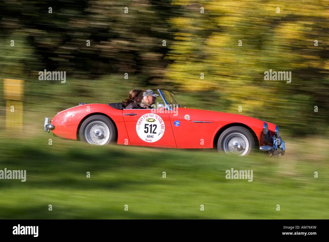 Austin Healey 3000 MK I, Baujahr 1959, Nürburgring Classic 2007 Stockbild