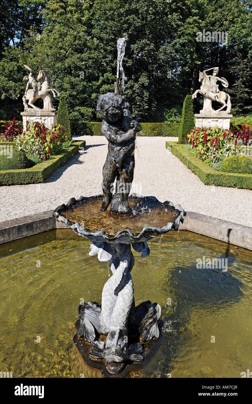 Barocke Gärten Wasserburg Anholt Isselburg Westpahlia Nrw