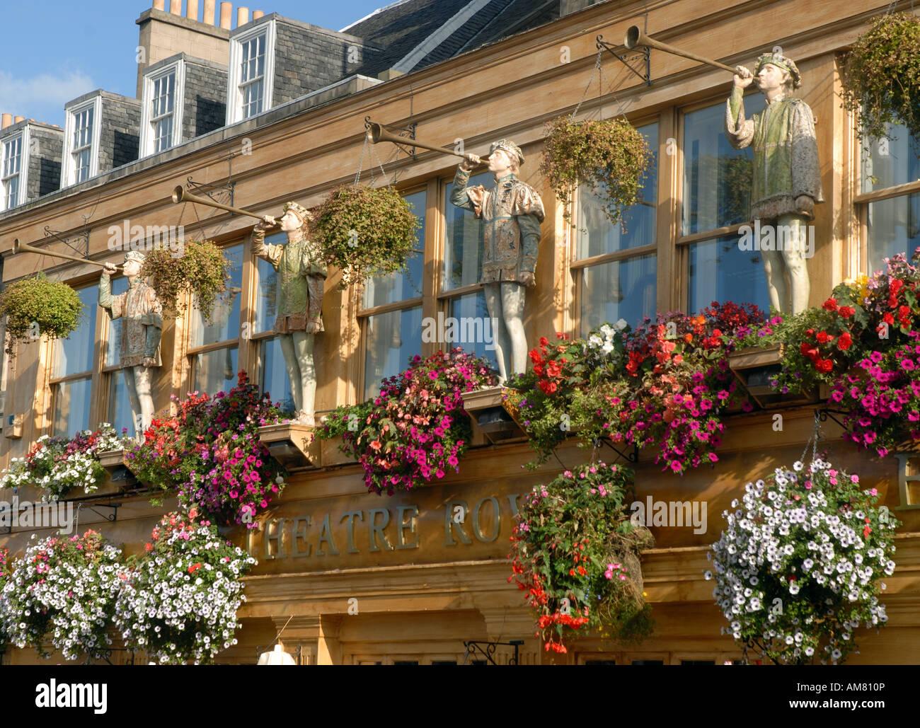 Theatre Royal Pub außen gedreht Edinburgh Schottland Stockbild