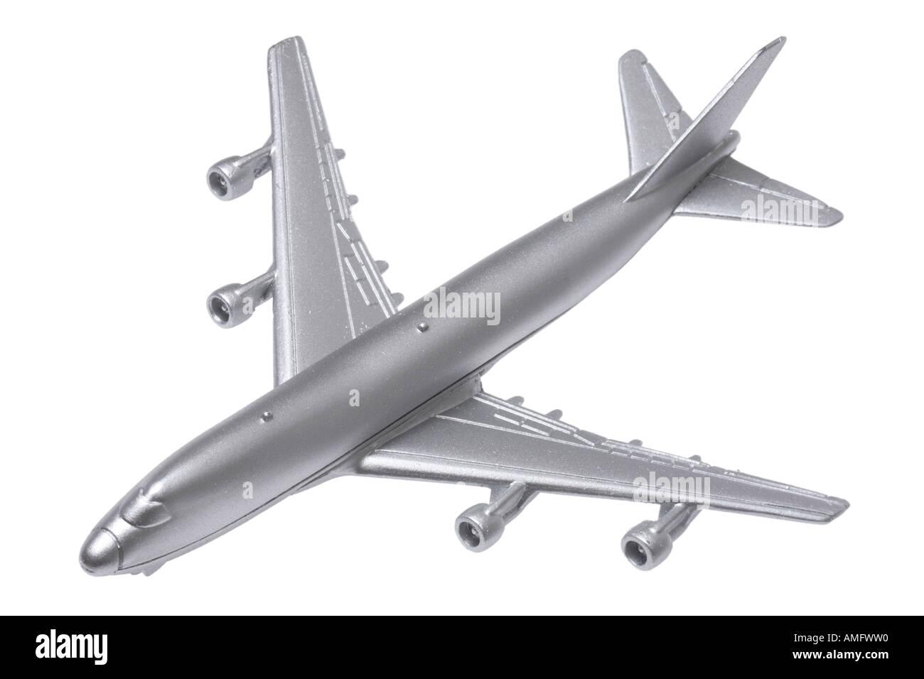 Spielzeugflugzeug Stockbild