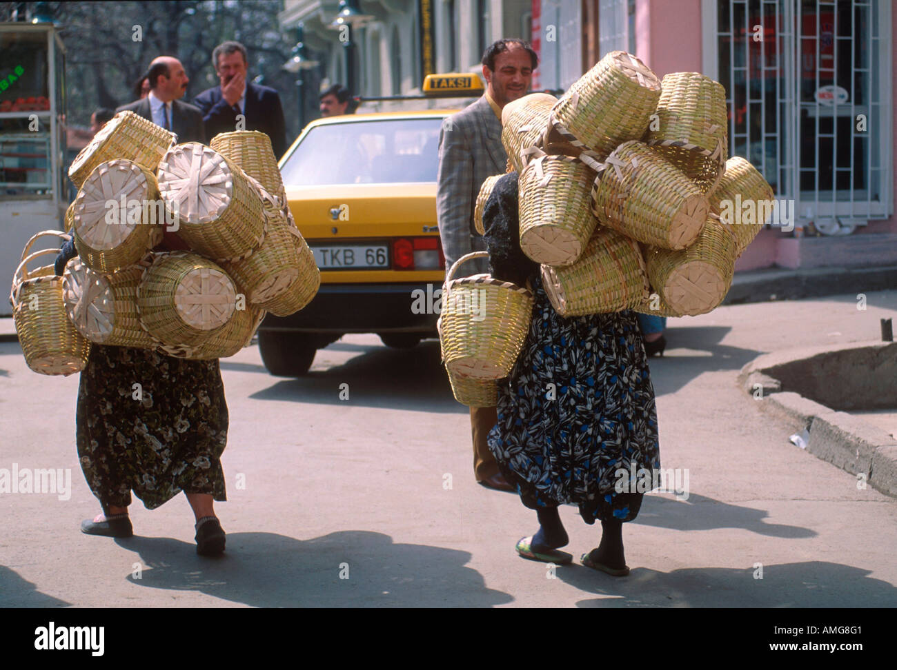 Ägypten, Istanbul, Frauen eigenen wie Stockbild