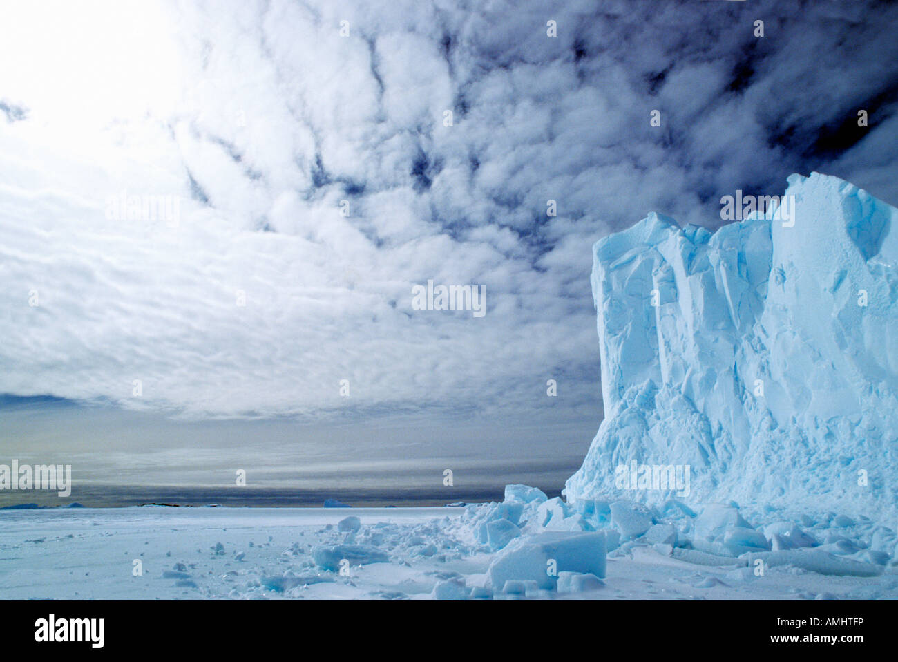 Eisberg Antarktis Antarktis Geographie Querformat Eisberg Eis Landschaften Meer der antarktische Wasser Stockbild