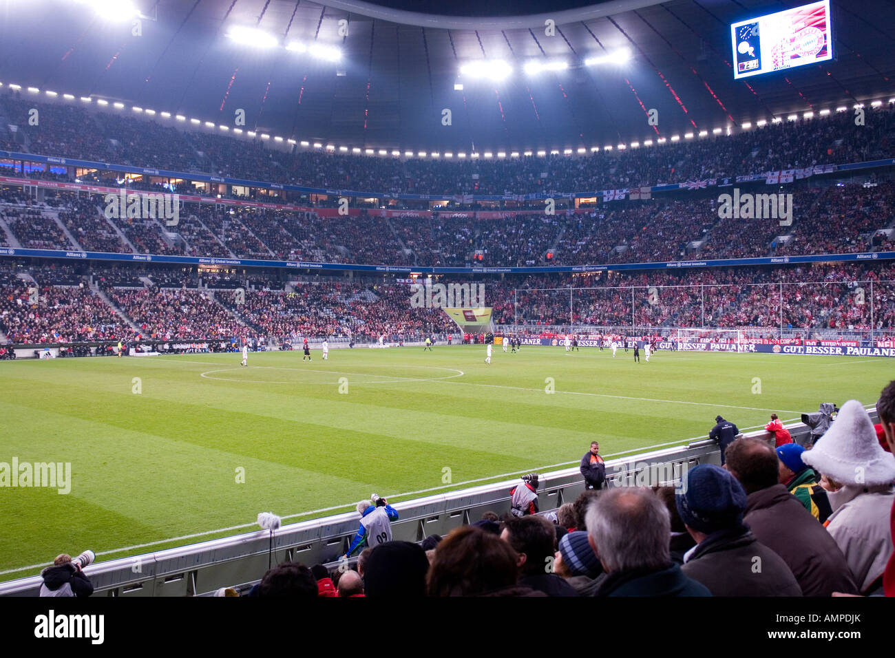 Deutschland Bayern Munchen Fussball Stadion Allianz Arena In