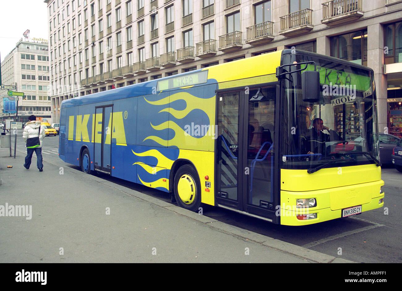Ikea Bus In Wien österreich Stockfoto Bild 2846704 Alamy