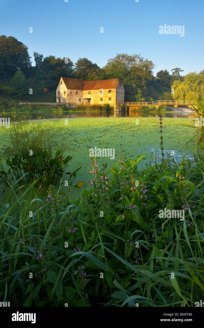 Sturminster Mühle am Fluss Stour Sturminster Newton Dorset England UK Stockbild