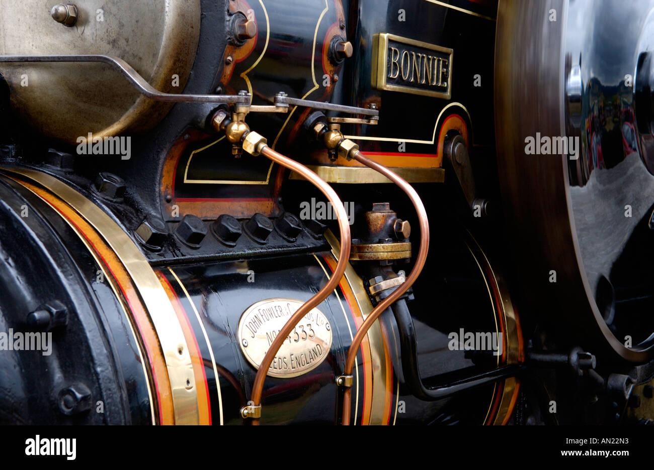 Fowler Compound 12 Tonne Roller Registrierung Nummer Ad 8773 Bonnie