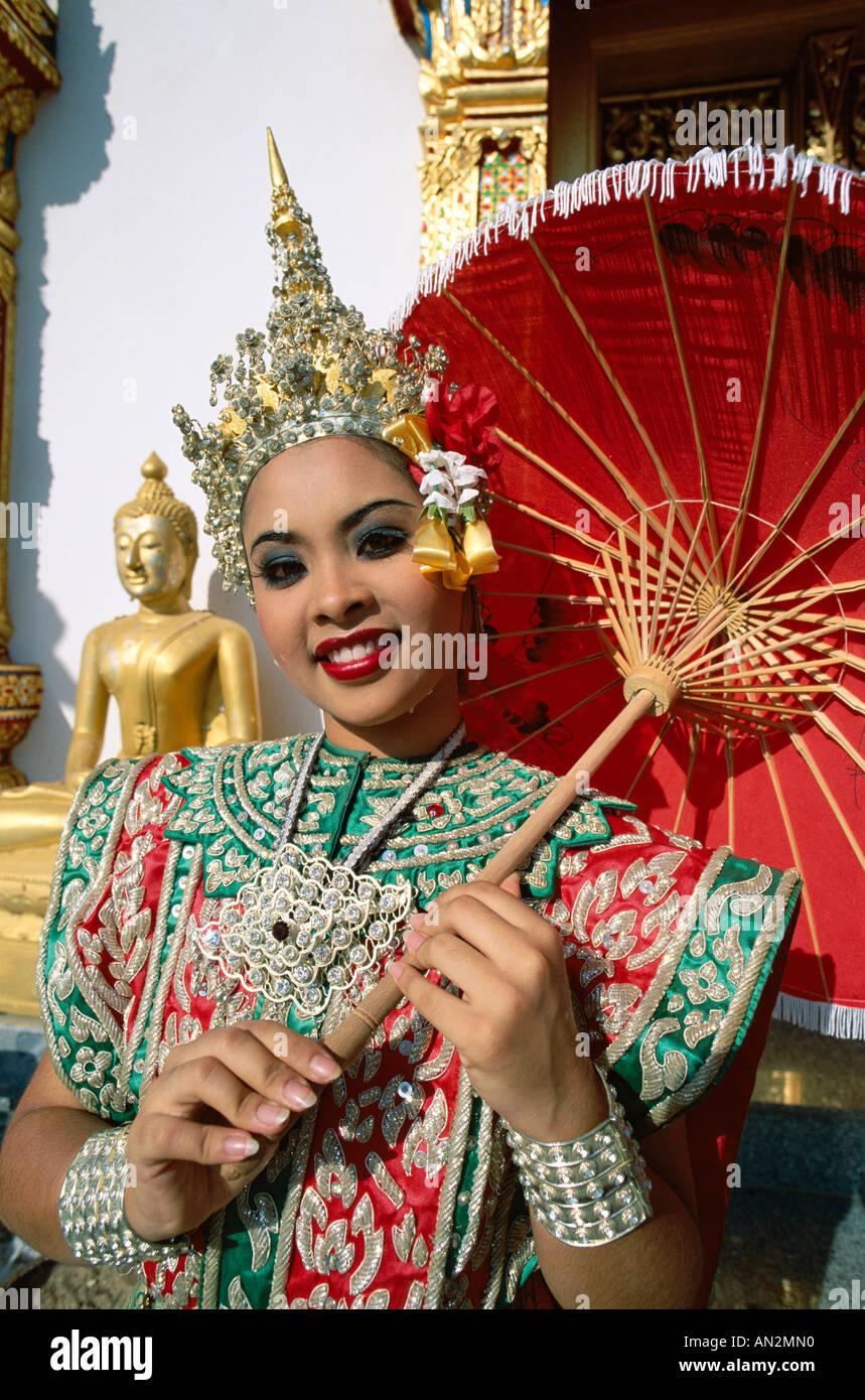 indische Mädchen in Bangkok