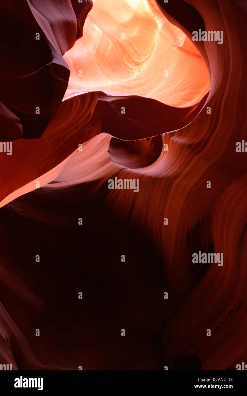 Lower Antelope Canyon, Arizona, USA Stockfoto