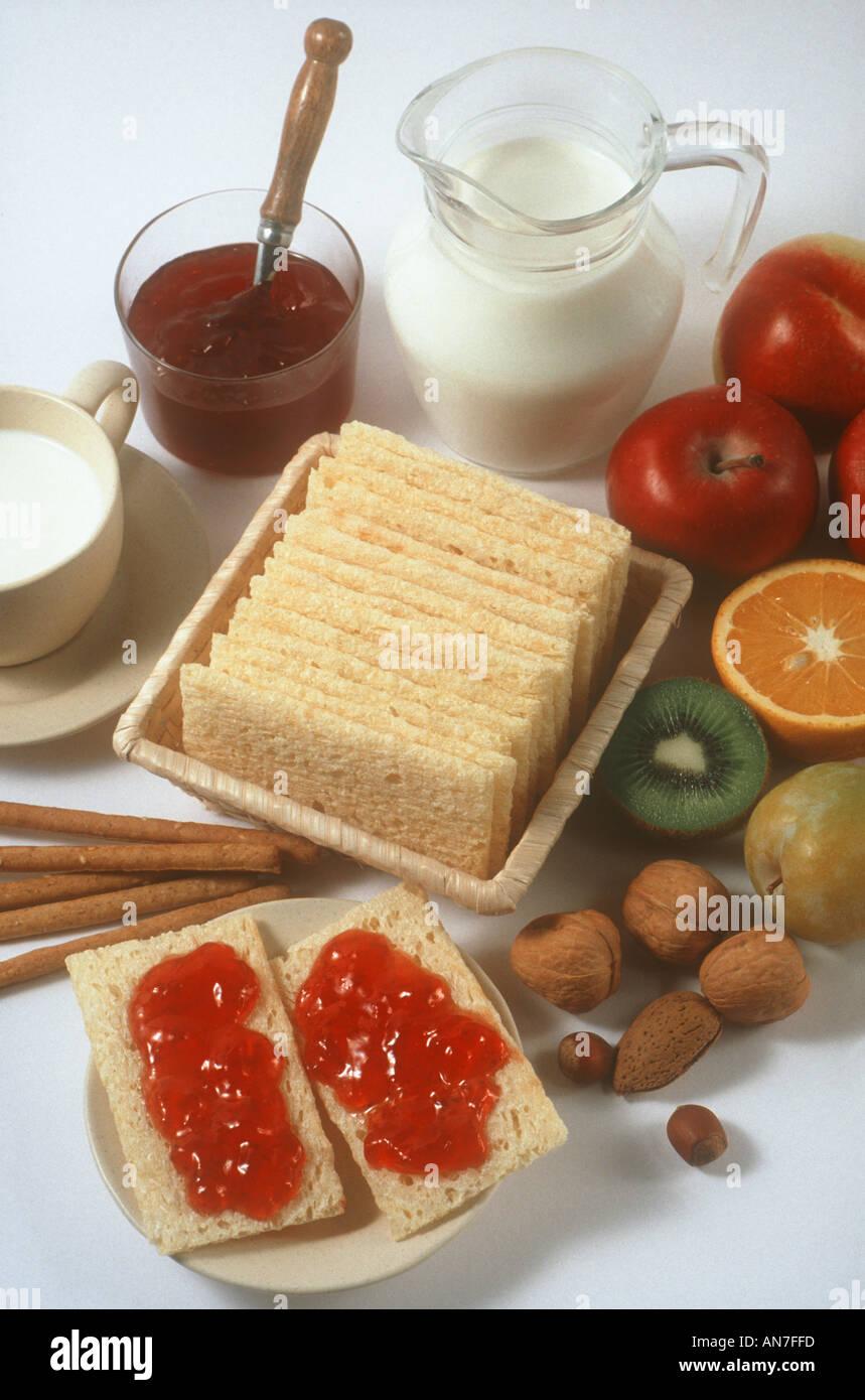 Diätetische Lebensmittel Stockfotografie - Alamy