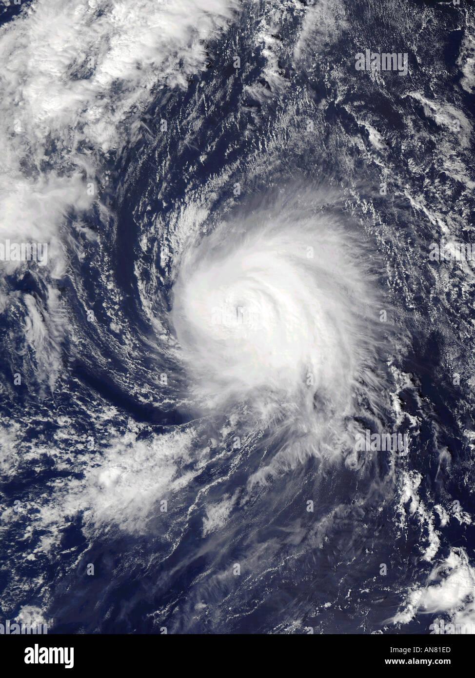 Hurrikan KATE in der Atlantic 10 5 2003 Stockbild