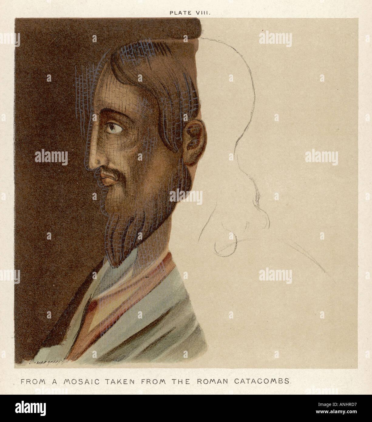 Jesus 6 v. Chr. 30 n. Chr. Stockfoto