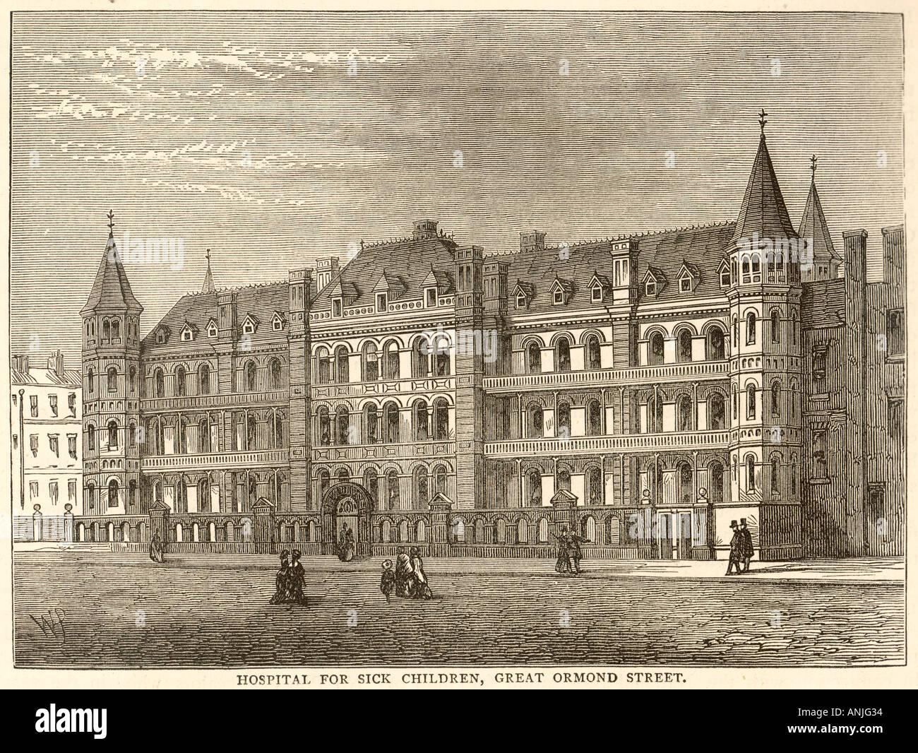 Krankenhaus Gt Ormond St Stockbild