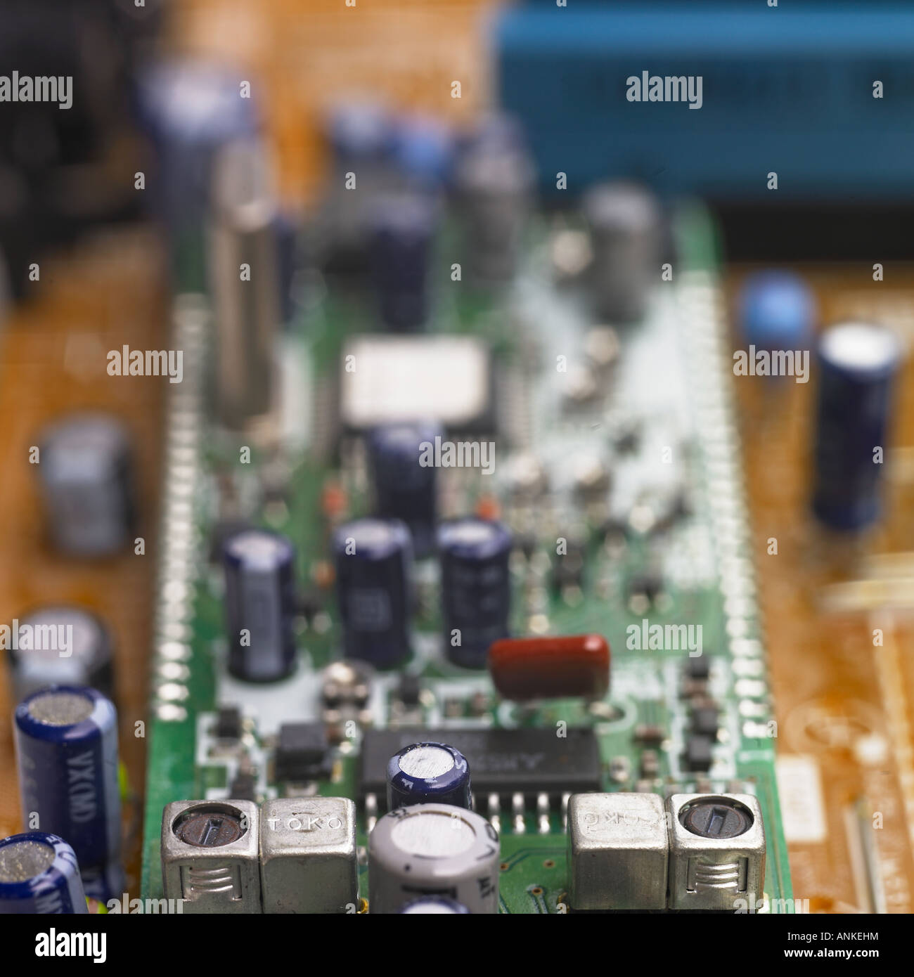 Elektronisches Gerät Schaltung Stockbild