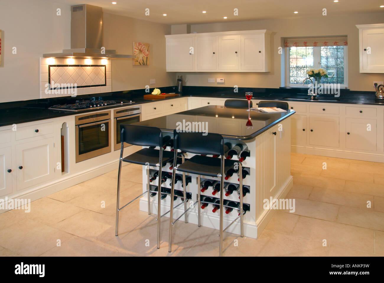 Steinboden Küche uk property haus interieur modernen stilvollen küche mit