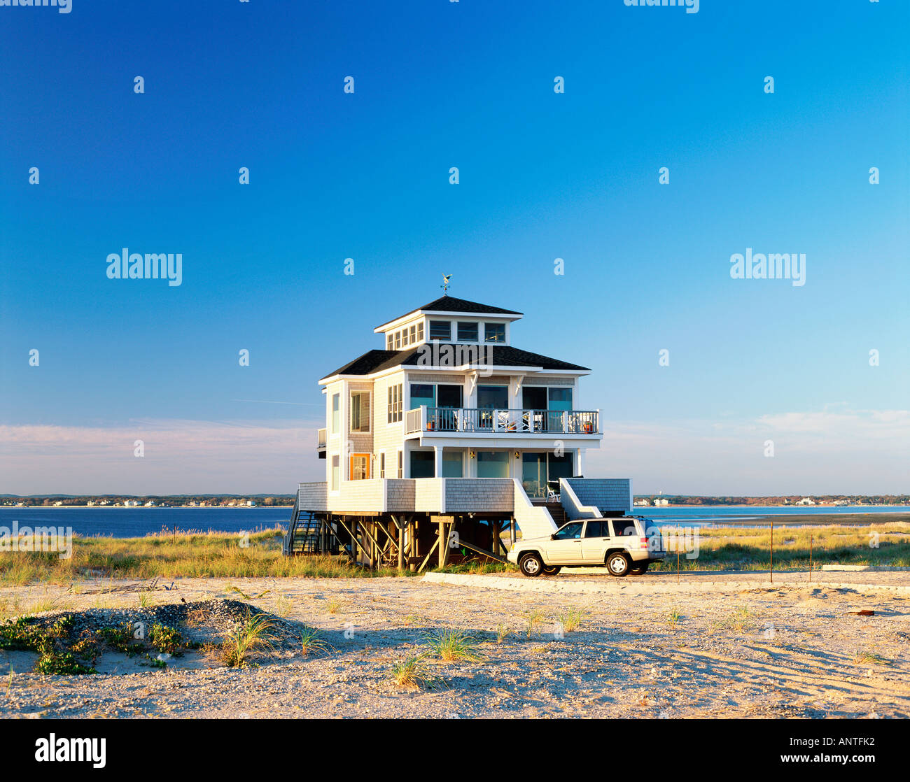 Long Beach Beach Houses: Jones Beach Long Island Stockfotos & Jones Beach Long