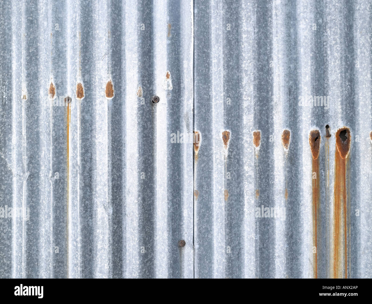 Wellblech Stockbild