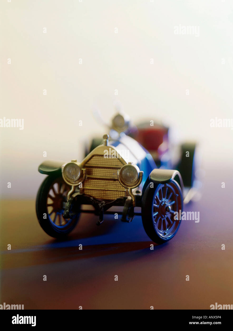 Modell der Oldtimer Auto nur zur redaktionellen Verwendung Stockbild