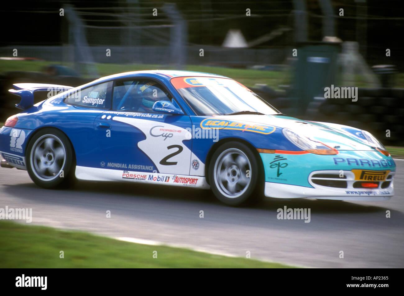 Mark Sumpter Porsche Winterserie Stockbild