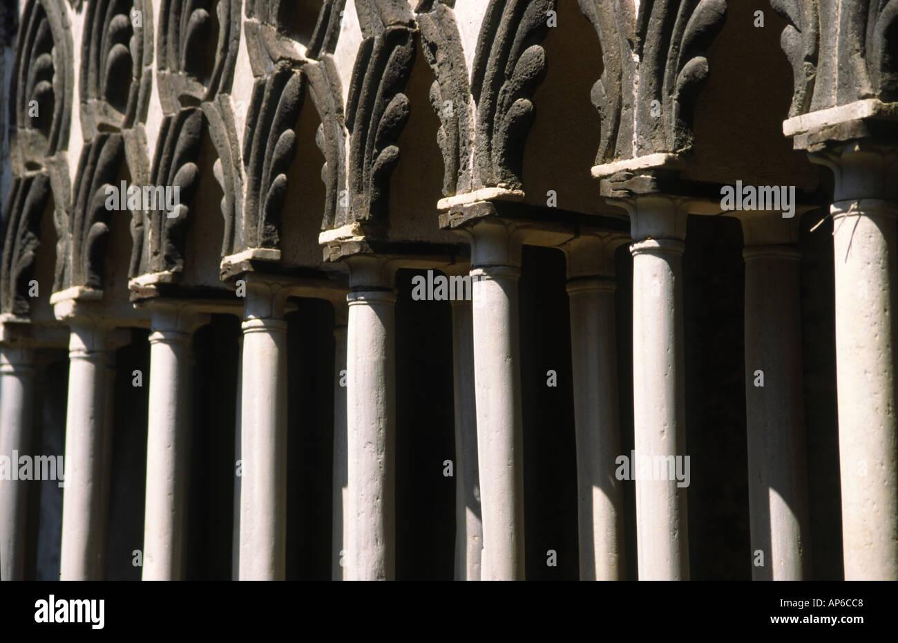 Detail von der Villa Cimbrone Stockfoto