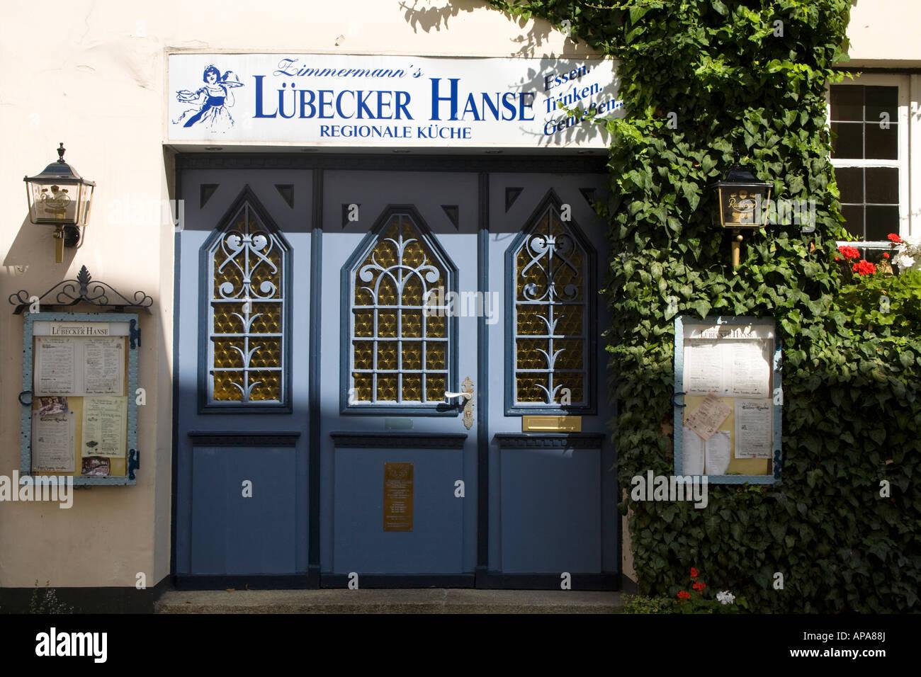 Lubecker Hanse Regionale Kuche Restaurant Lubeck Schleswig