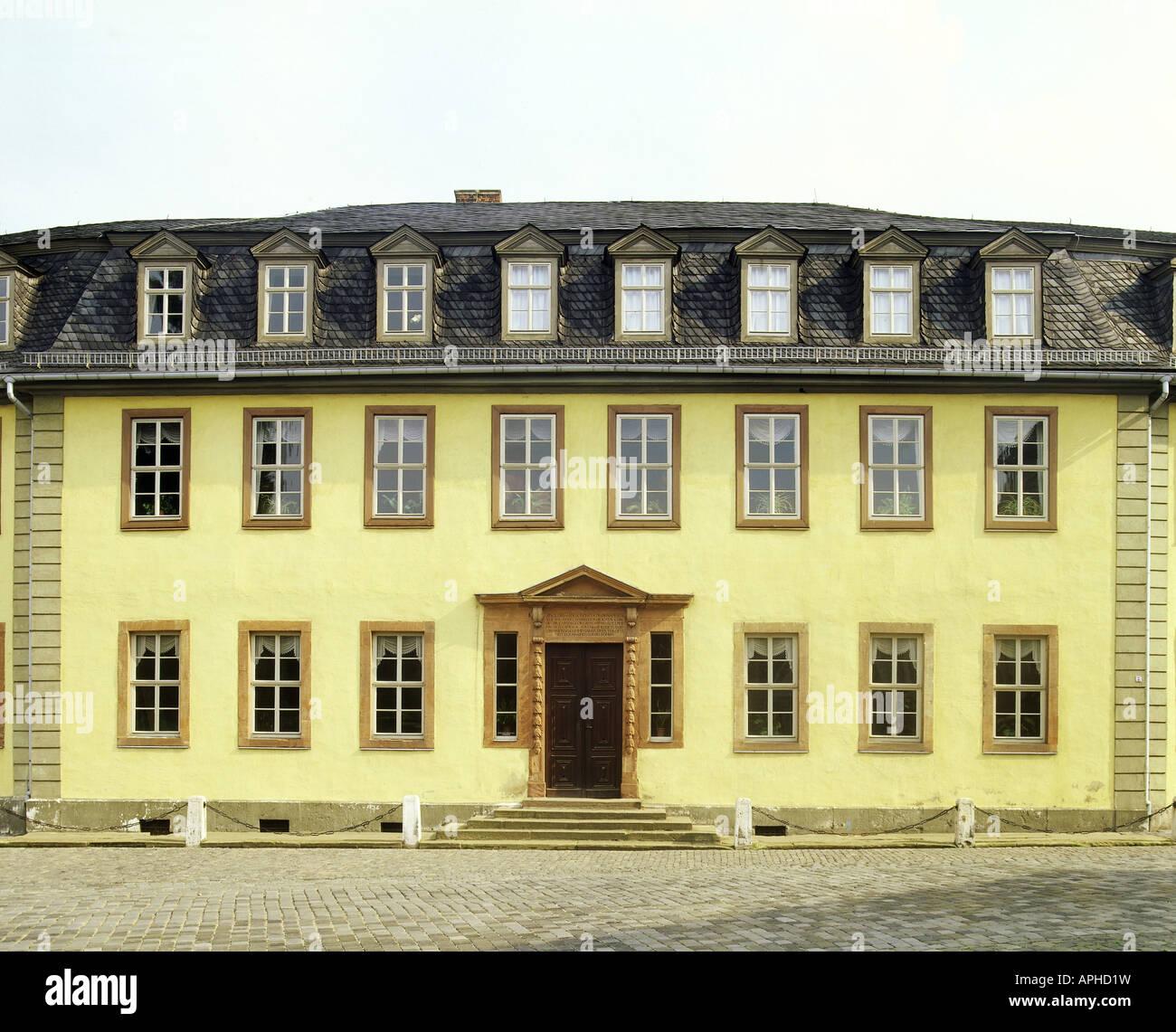 Geographie Reisen Deutschland Thüringen Weimar
