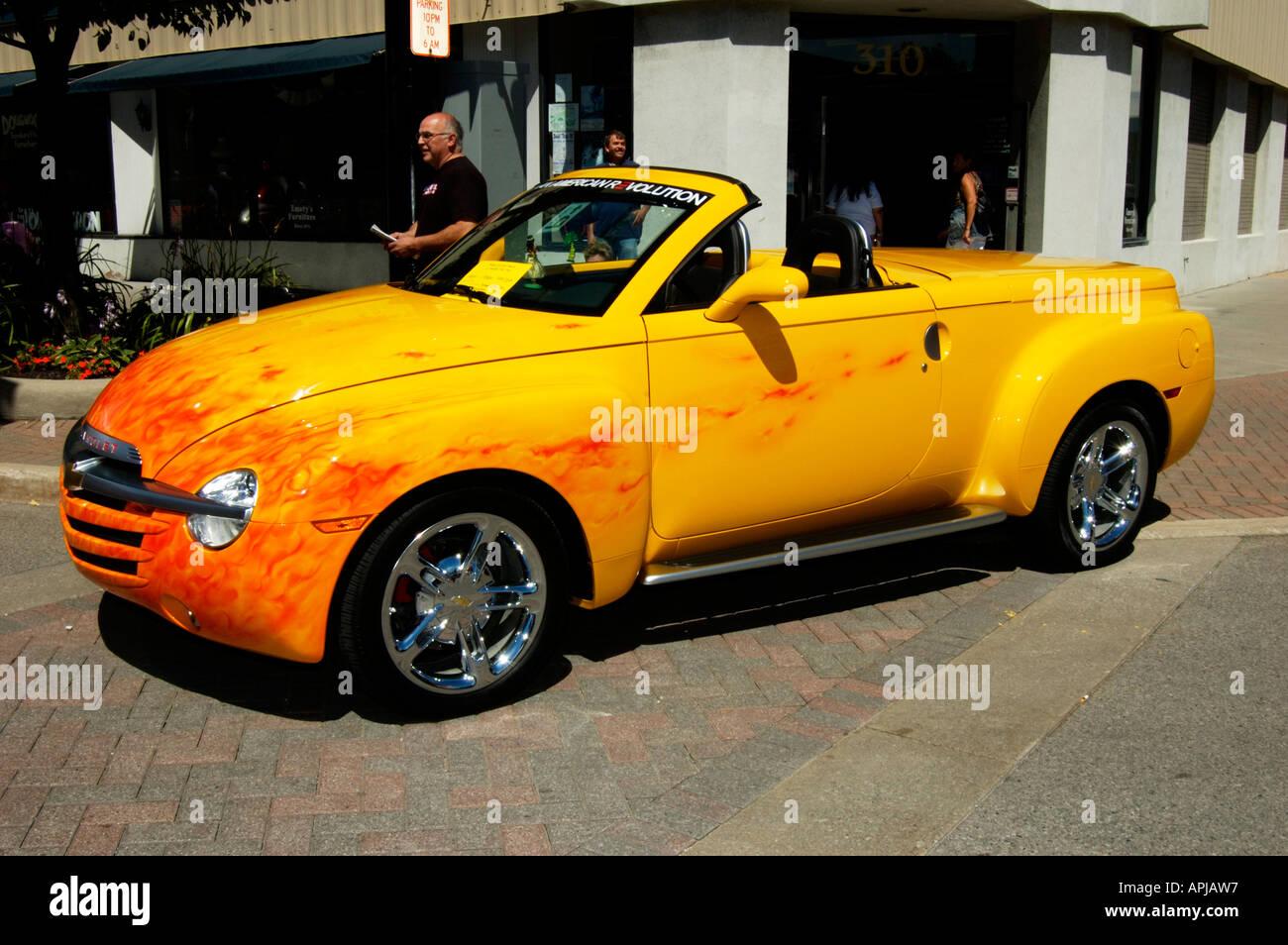 2004 Chevy Ssr Lkw Stockfotografie Alamy