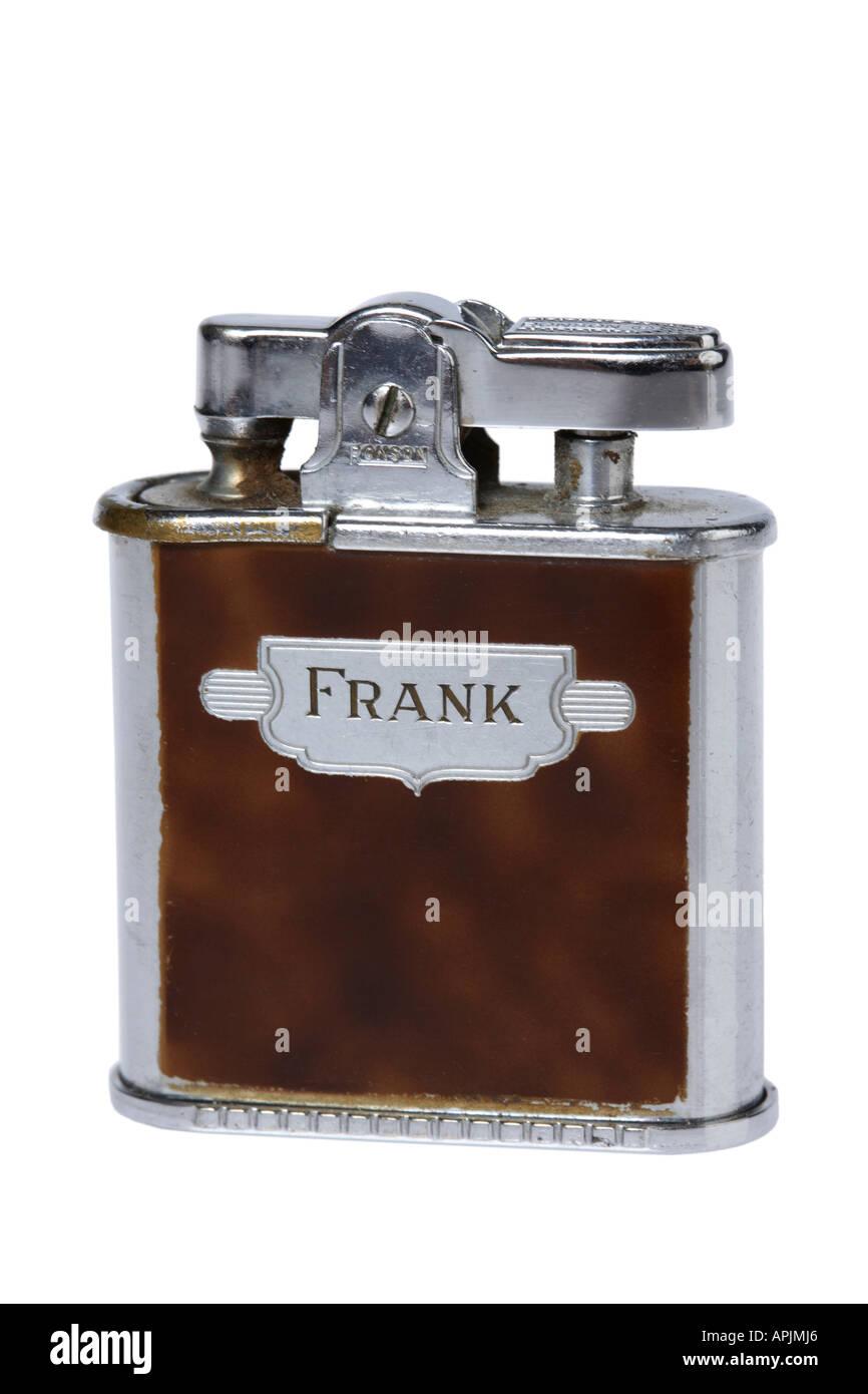 Vintage Feuerzeug Stockbild