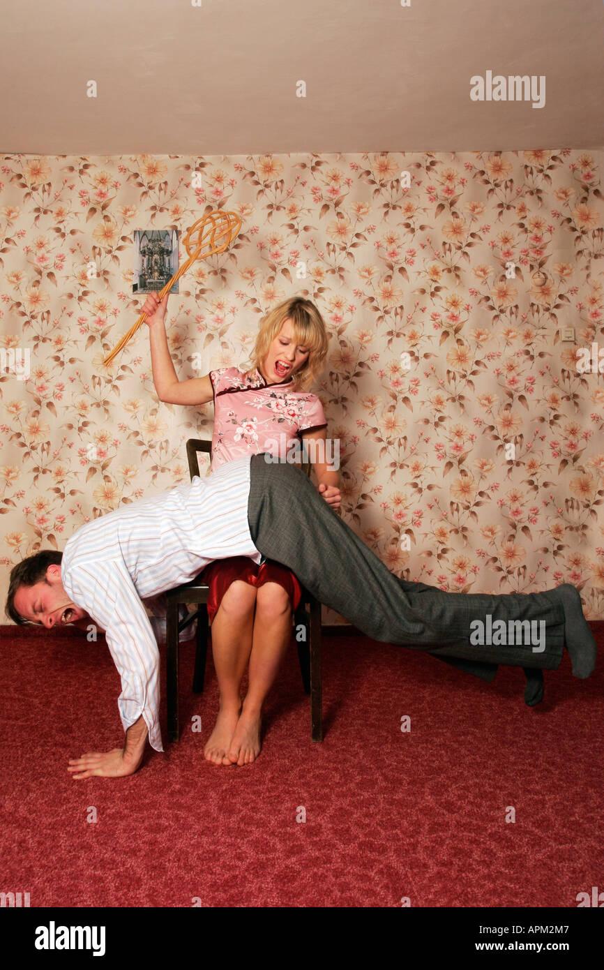 Frau spanking Spanking Geschichten